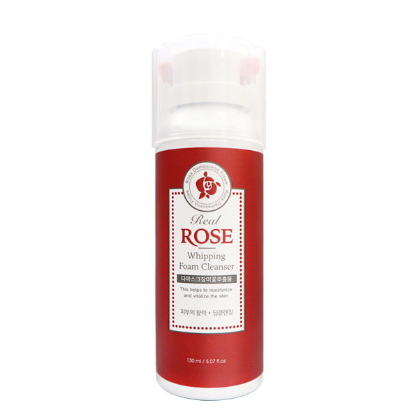 Real Rose Whipped Foam Cleanser